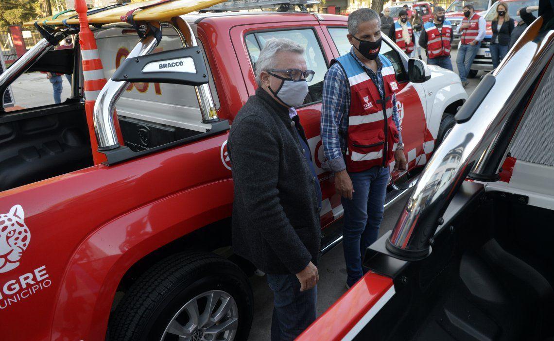 Tigre sumó 12 nuevos móviles al Sistema de Protección Ciudadana