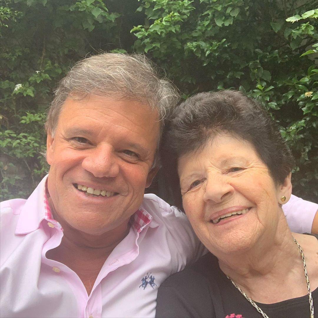 Recuperado de coronavirus, Quique Sacco se expresó en Instagram tras recibir el alta junto a su mamá
