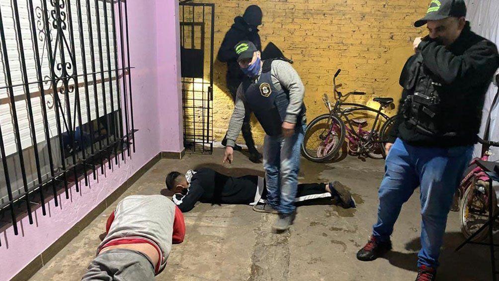 Bernal: detienen a la banda del Gordo Luis que vendía cocaína y marihuana en la zona