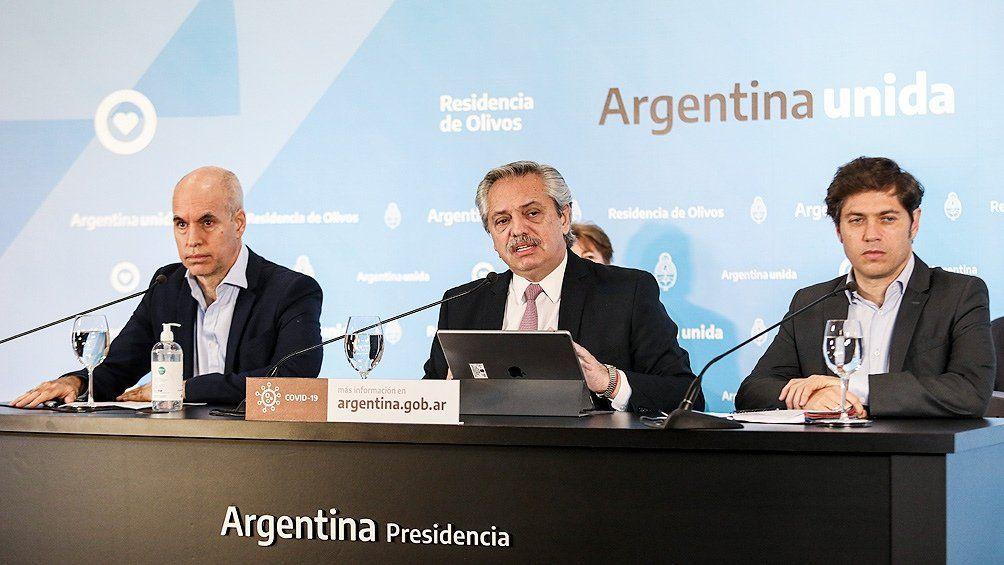 ¿Rumbo a la fase 1 en AMBA? Alberto Fernández lo decide el lunes junto a Larreta y Kicillof