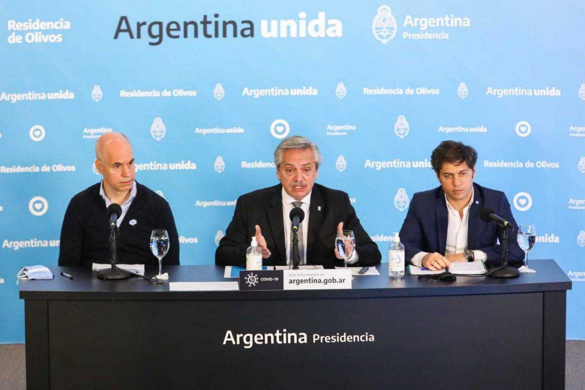 Coronavirus: el Presidente analiza con Kicillof y Larreta la situación en el AMBA