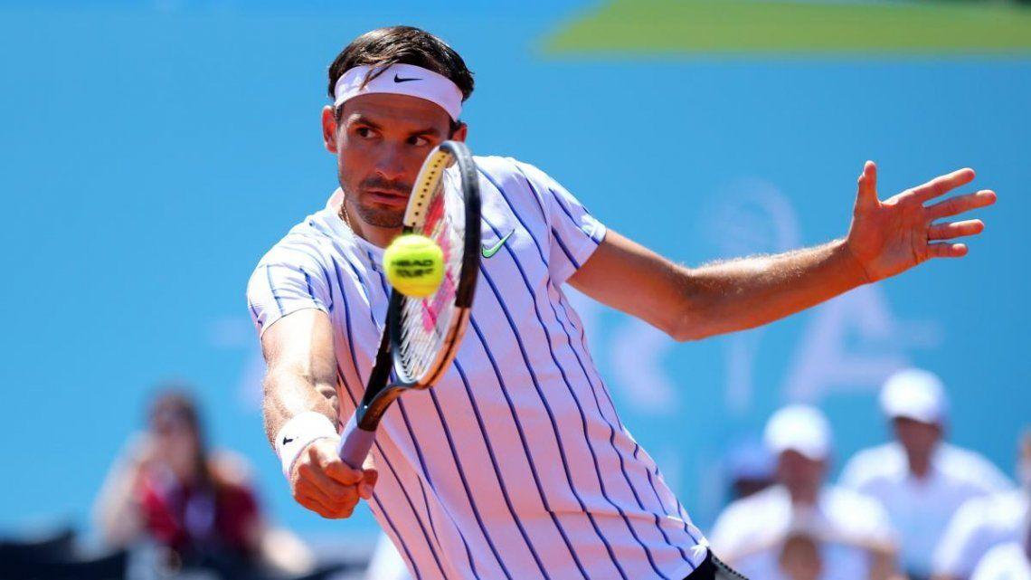 Alarma en el tenis: el búlgaro Grigor Dimitrov dio positivo de coronavirus