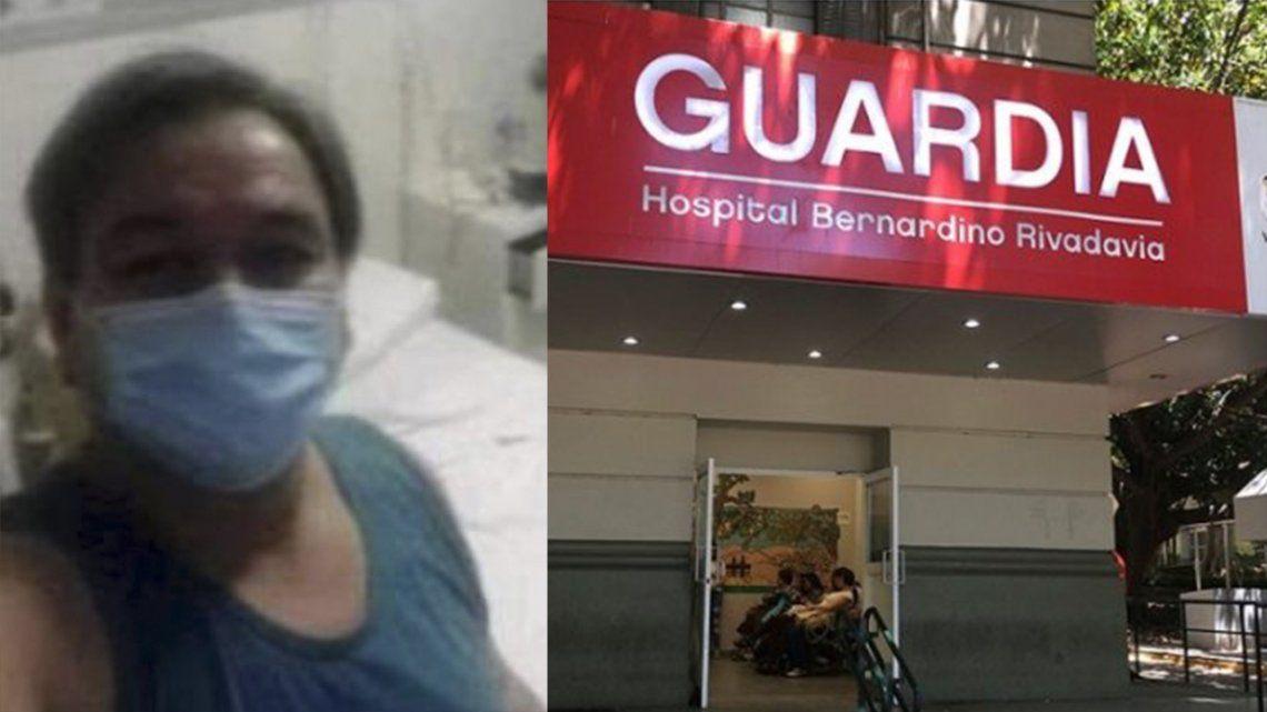 Coronavirus: murió un enfermero del hospital Rivadavia
