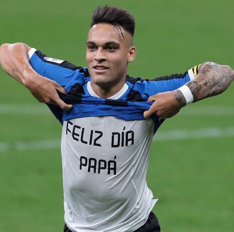 Lautaro Martínez por fin pudo gritar y el Inter sigue en la pelea