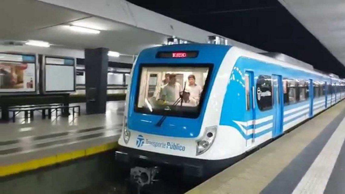 El tren Sarmiento no funciona normalmente por posible caso de Coronavirus