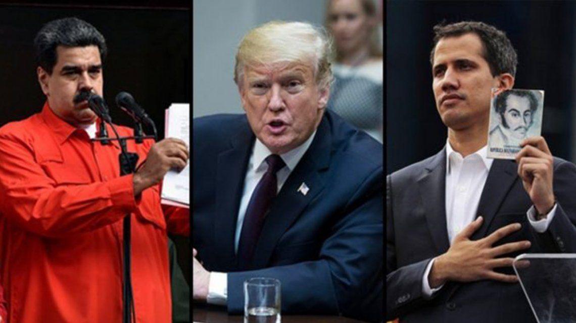 Crisis en Venezuela: Donald Trump no descarta reunirse con Nicolás Maduro