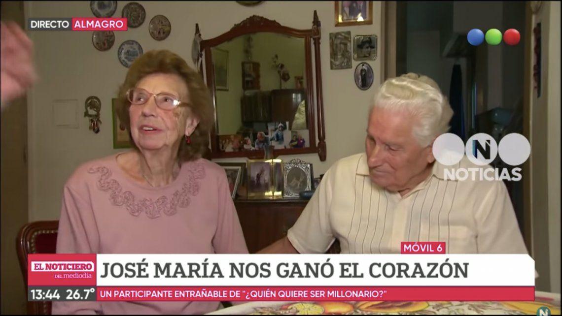 Murió Blanquita, la mujer del Oráculo que emocionó a toda la Argentina en el programa de Santiago del Moro