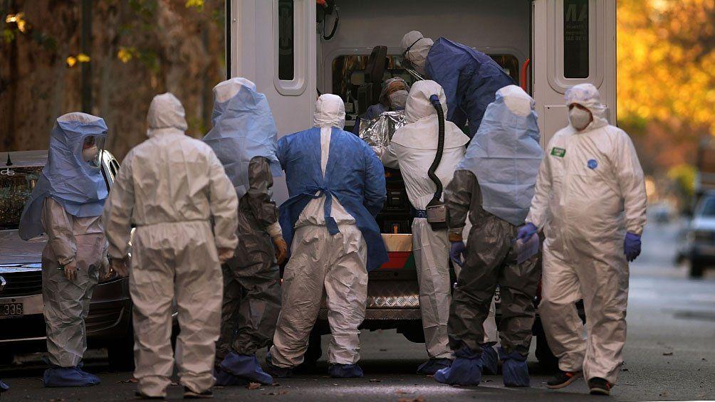 Dramático: mueren por coronavirus siete adultos mayores residentes en un geriátrico