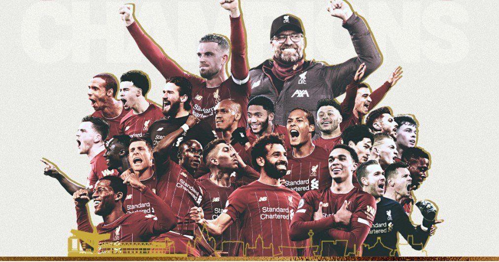 Se terminó la maldición: Liverpool volvió a gritar campeón de la liga inglesa después de 30 años