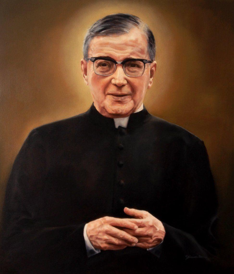Hoy viernes 26 de junio es la Fiesta de San Josemaría Escrivá de Balaguer, fundador del Opus Dei