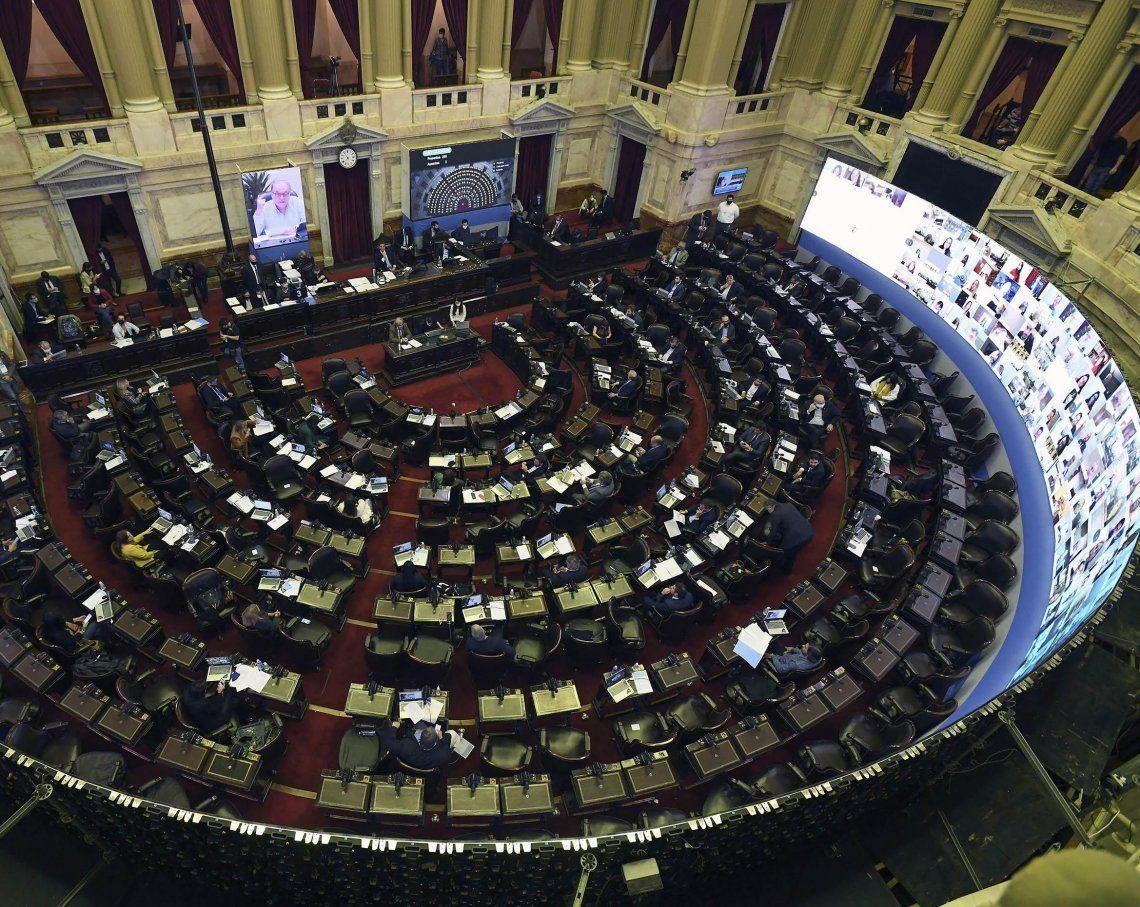 Un panorama diferente en Diputados con las sesiones online.