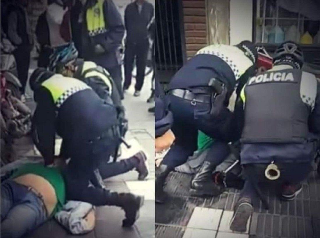 Qué dijo la viuda del hombre asfixiado como George Floyd por la Policía de Tucumán