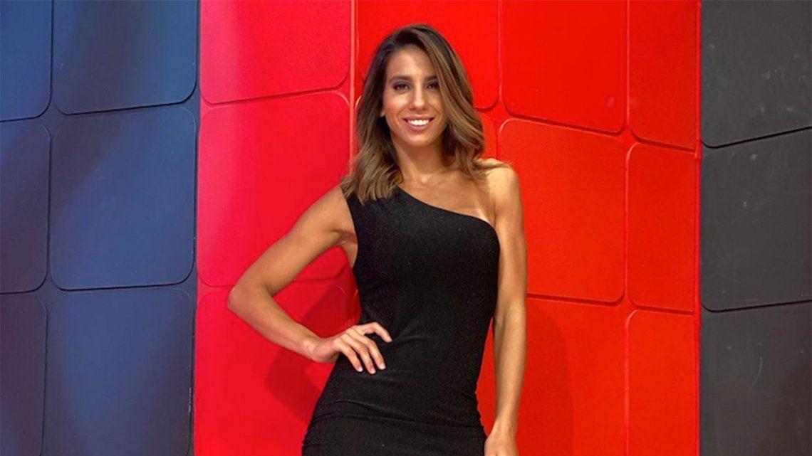 Cinthia Fernández desafió al frío y compartió su baile hot de domingo a la mañana