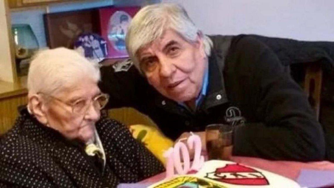 Falleció a los 102 años la madre de Hugo Moyano