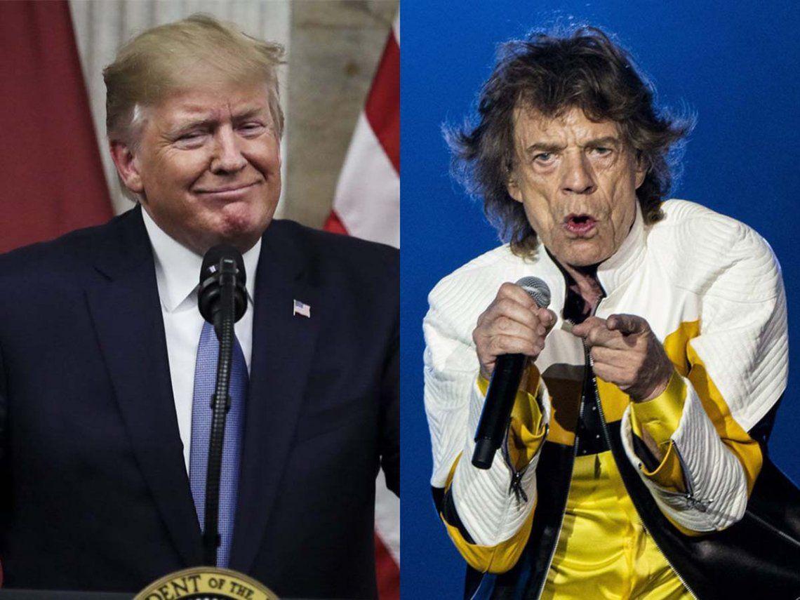 Los Rolling Stones amenazan con demandar a Trump por el uso de sus canciones
