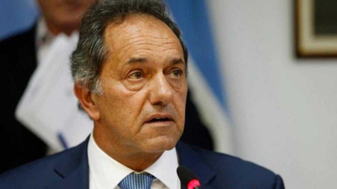 El Gobierno oficializó la designación de Scioli como embajador en Brasil