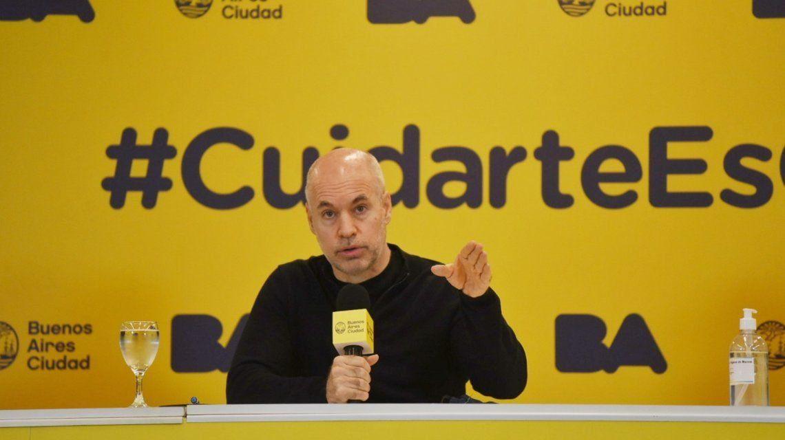Rodríguez Larreta: No se puede proyectar lo que va a pasar después del 17 de julio