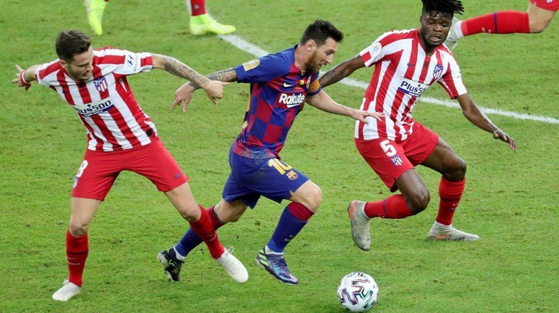 Barcelona empató ante el Atlético y complicó sus chances de campeonato