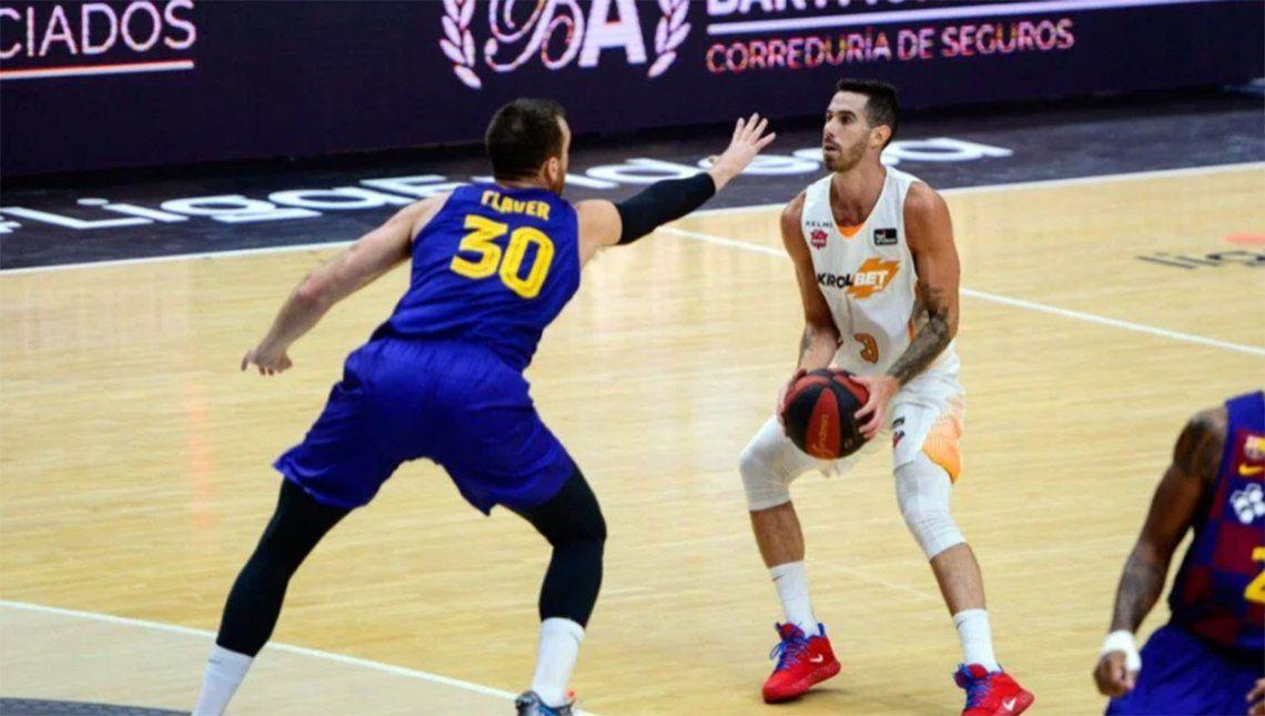 Liga ACB: el argentino que le dio el título a su equipo en la final ante Barcelona