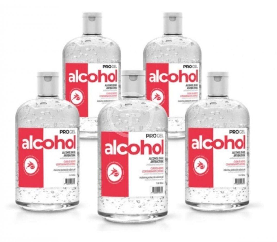 Atención: Prohíben el uso y comercialización de un alcohol en gel que se vende por Mercado Libre