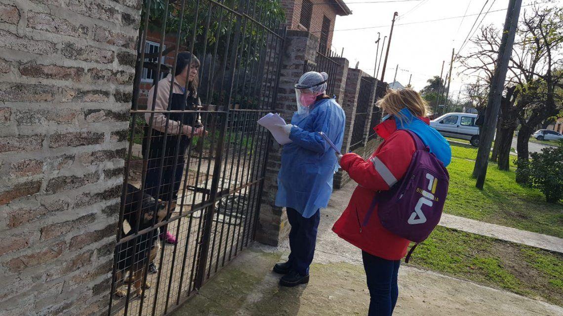 Más de 21.500 vecinos relevados en busca de casos de coronavirus