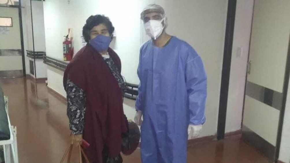 Coronavirus, la voz de una paciente recuperada: Me colocaron plasma y, al rato, tenía ganas de vivir