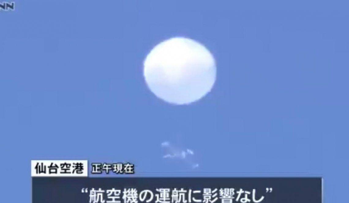 Un ovni con forma de globo aterroriza a Japón