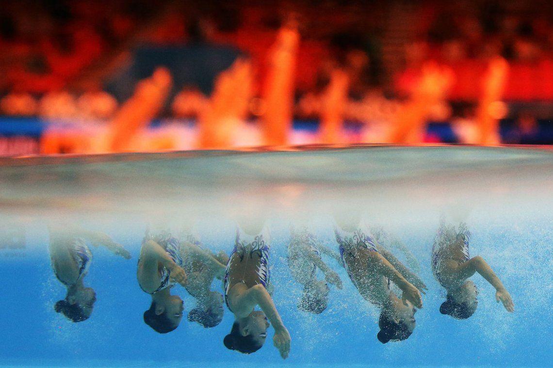 Precisión: oro. Campeonato Mundial de Natación en Gwangju