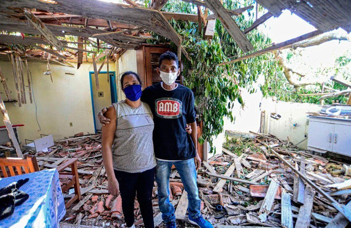En fotos: fuerte temporal causa al menos 10 muertos y múltiples destrozos en Brasil