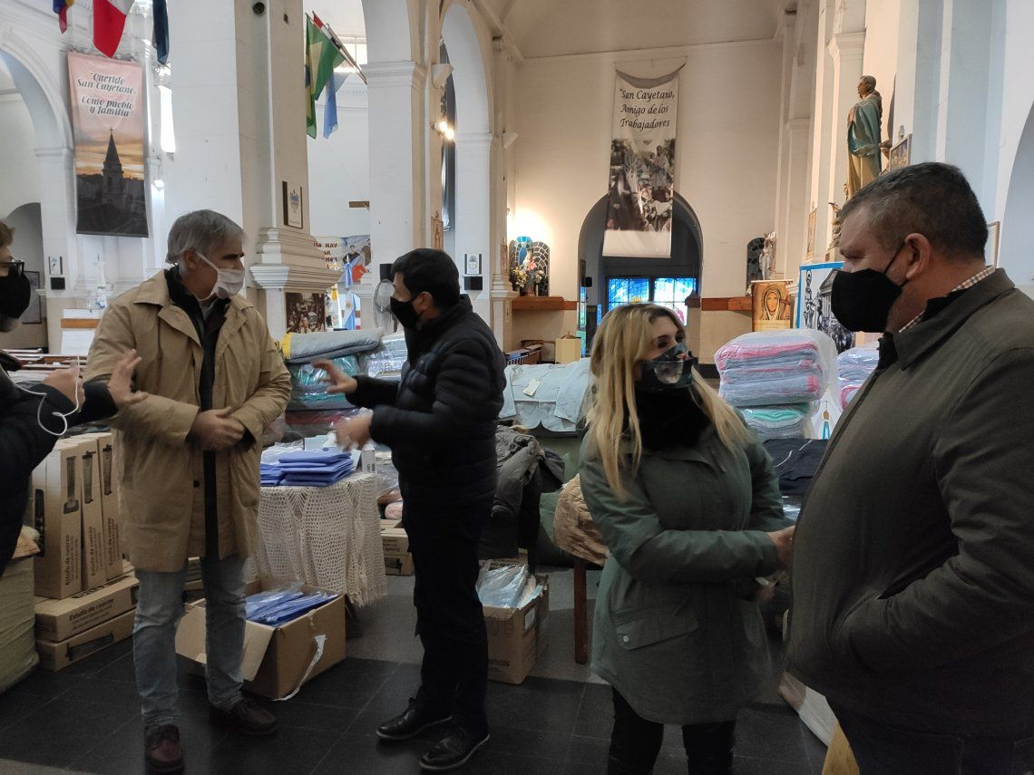 Operativo Invierno: entregan estufas, abrigos y frazadas a los más necesitados