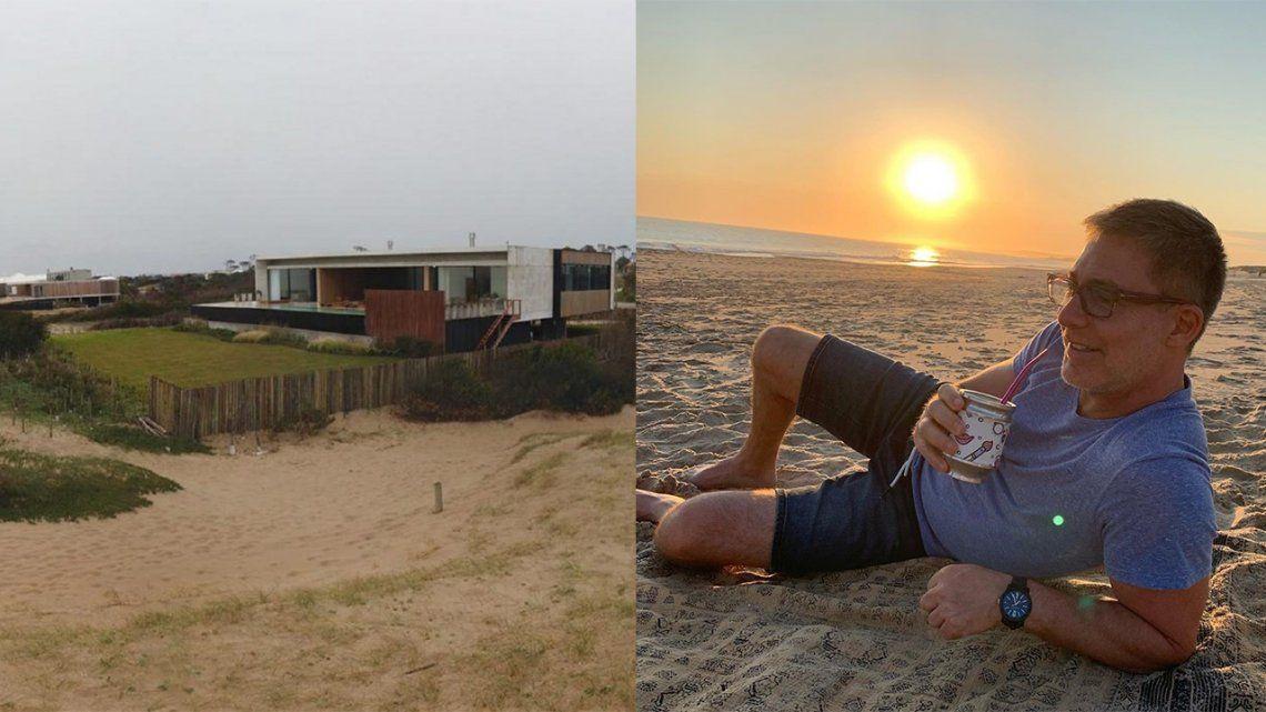 Al salvataje de Polka: Adrián Suar puso su casa de Punta del Este a la venta
