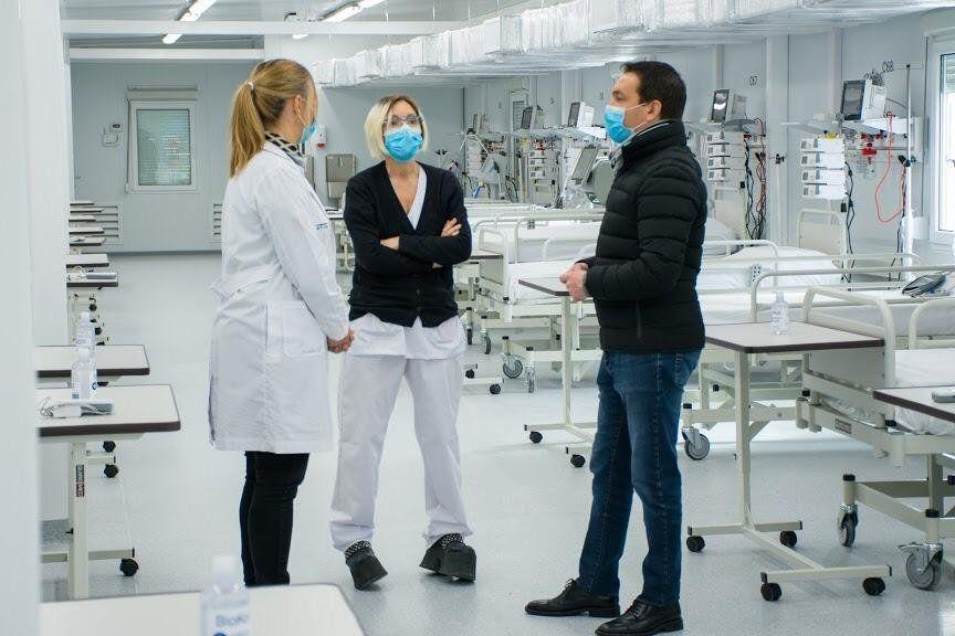 Watson formalizó apertura de hospital modular de Varela