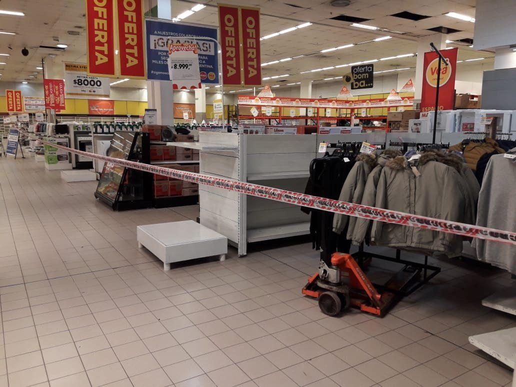 Hiper y supermercados de Lanús no venderán productos esenciales