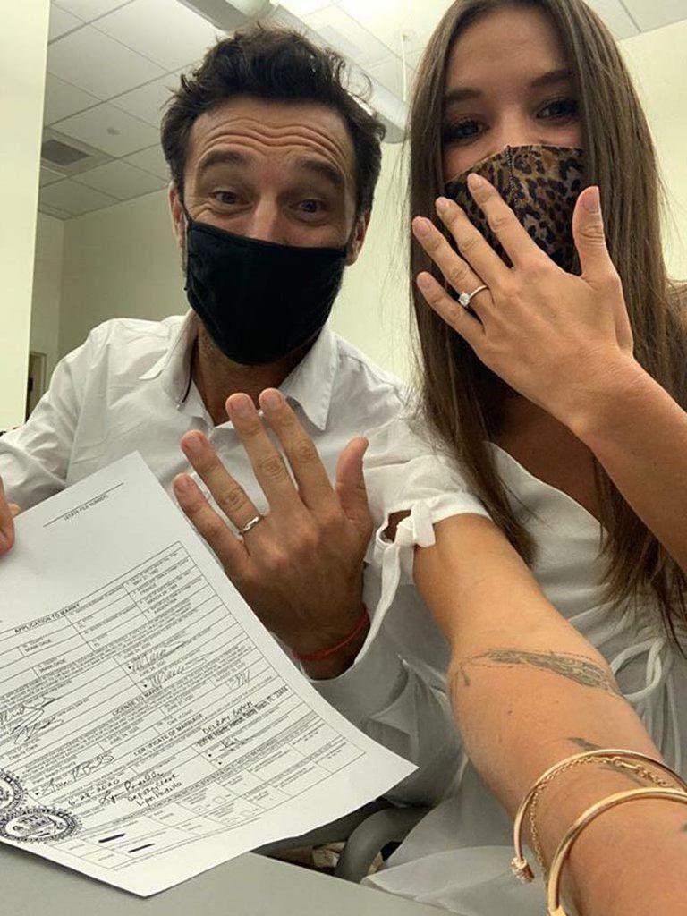 Pico Mónaco le hizo un espectacular regalo de cumpleaños a su flamante esposa