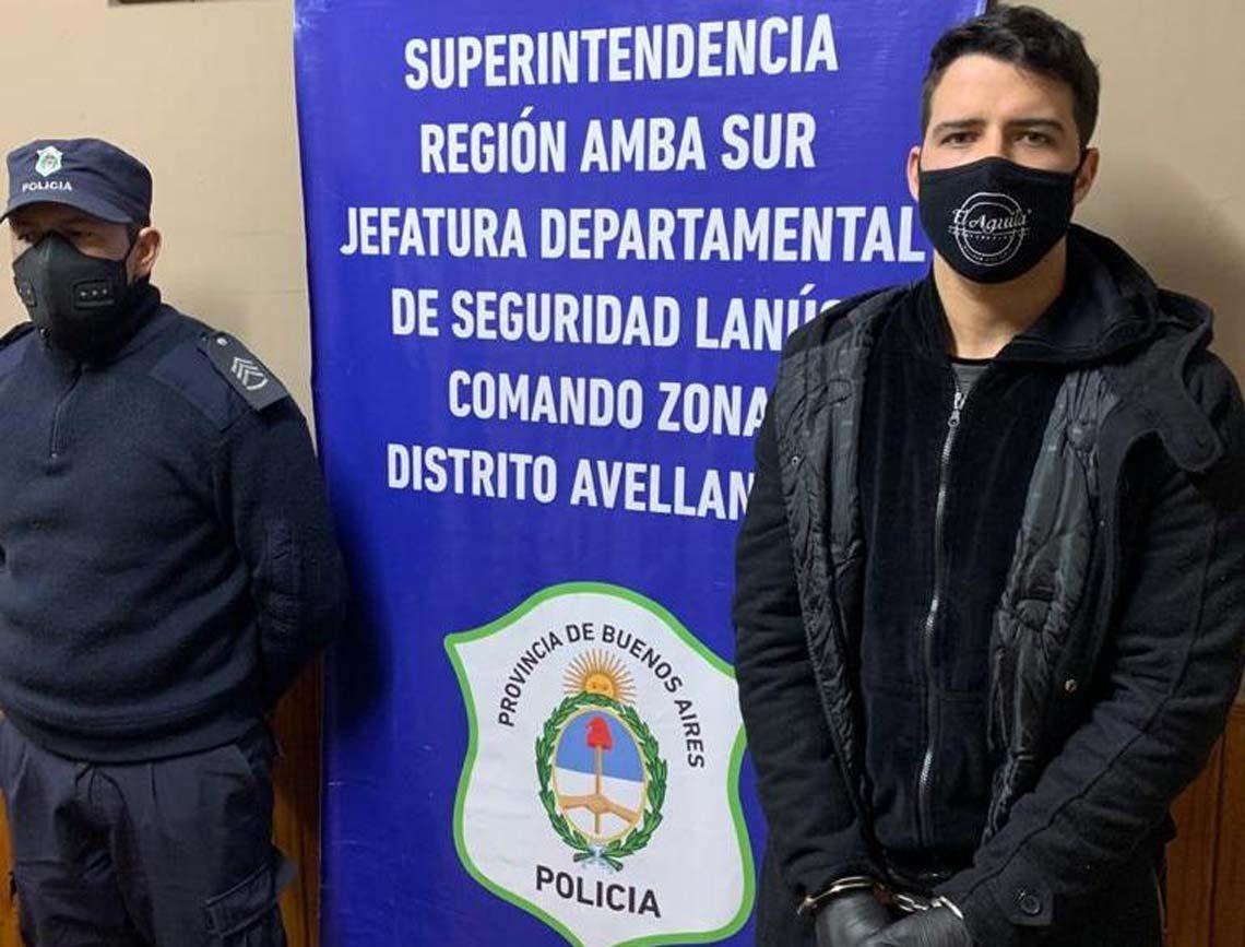 Alexis Zárate quedó detenido por abuso sexual