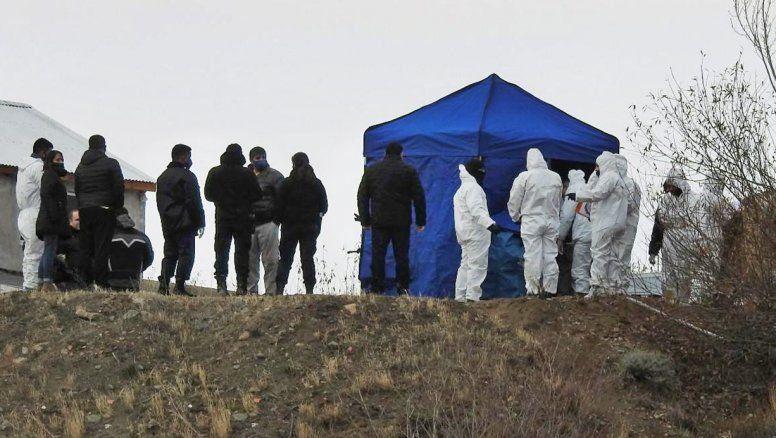 El lugar donde fue encontrado el cuerpo de Gutiérrez.