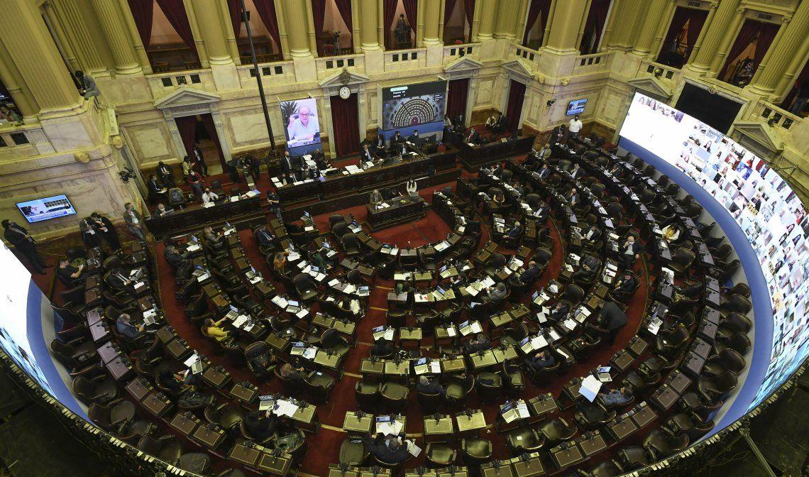 Diputados continuará con las sesiones virtuales.