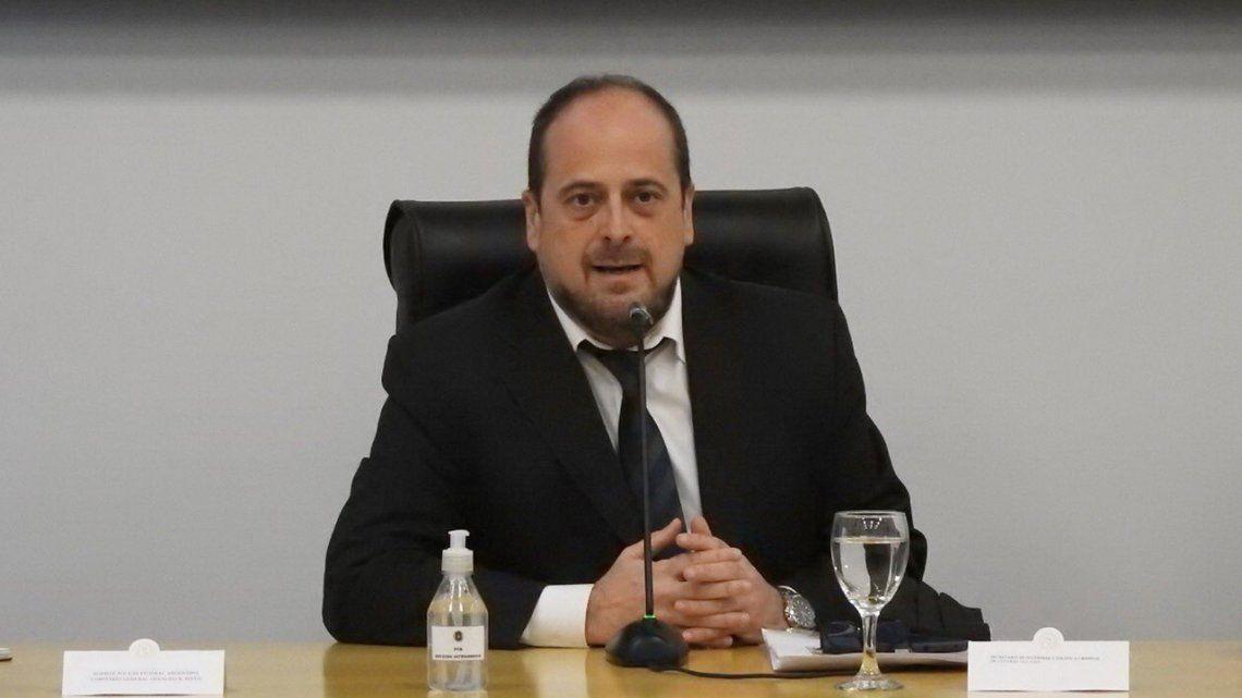 Coronavirus en la Argentina: el secretario de Seguridad de la Nación, Eduardo Villalba, dio positivo de Covid-19