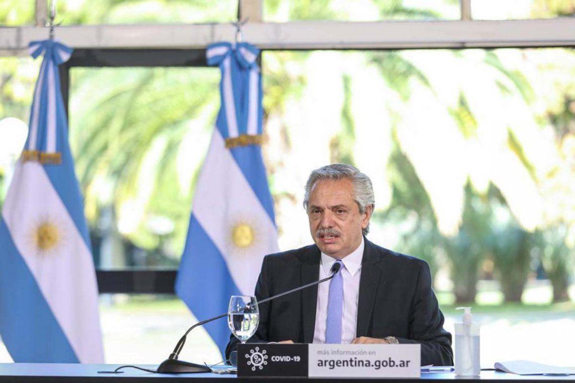 Alberto Fernández y el día después de la pandemia: Argentina se tiene que poner inmediatamente de pie