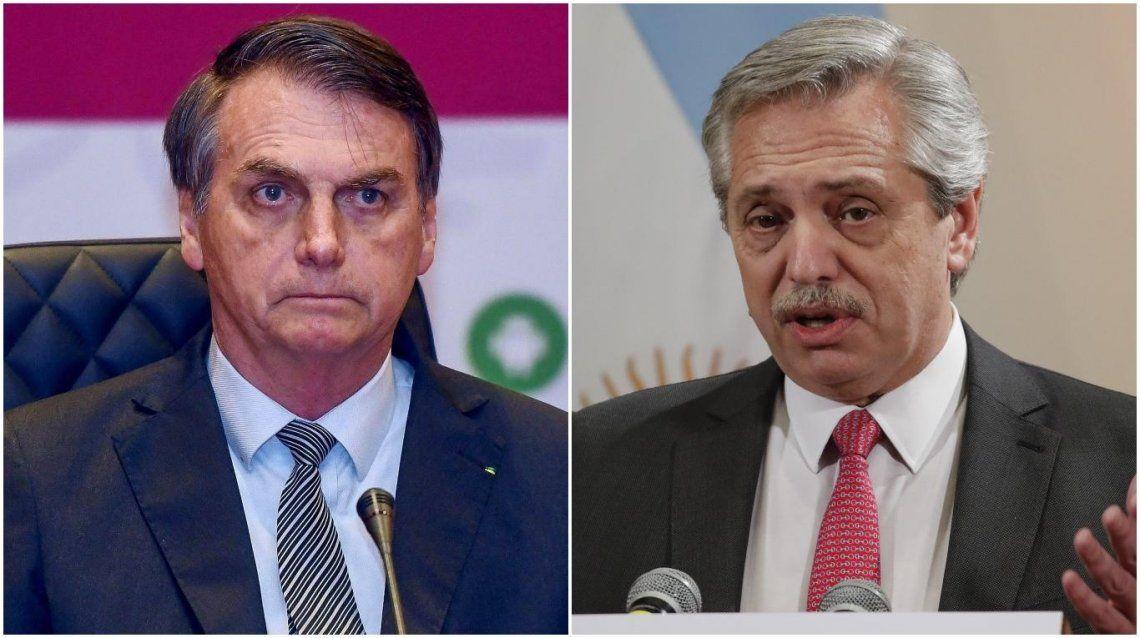 Alberto Fernández envió una carta a Bolsonaro deseándole pronta recuperación tras confirmarse su contagio