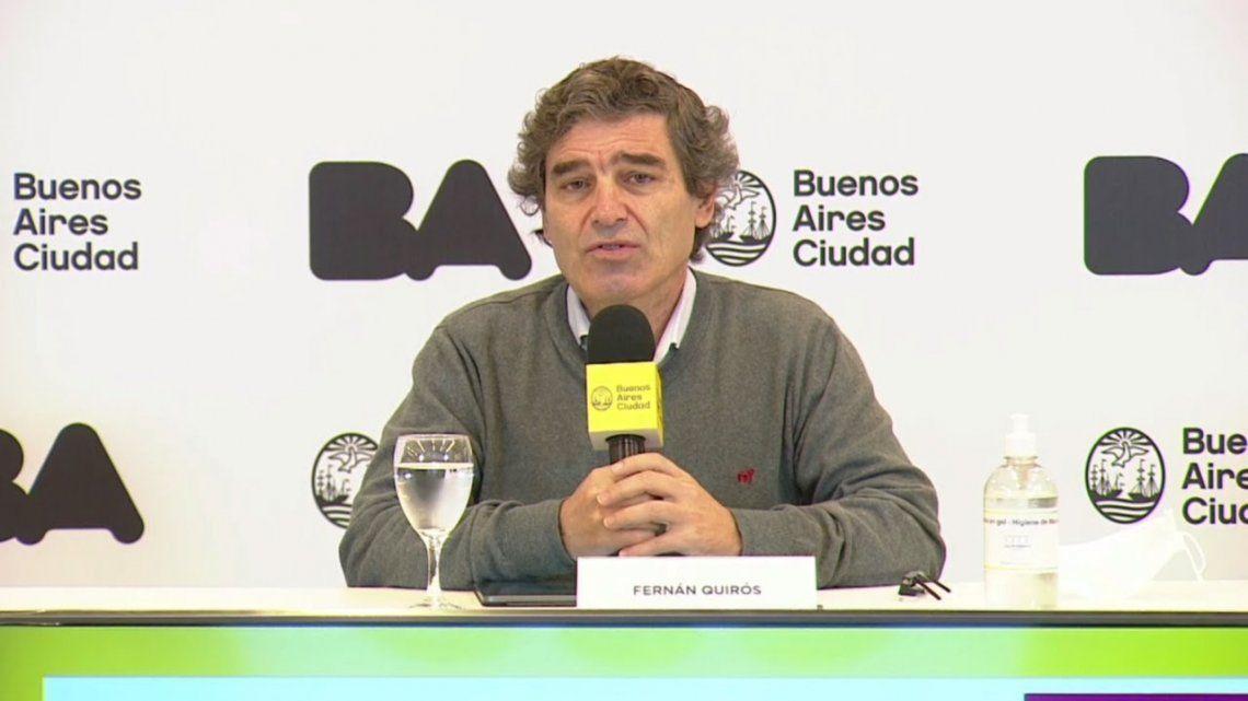 Quirós: El PAMI tiene 15% de sus pacientes internados en el conurbano