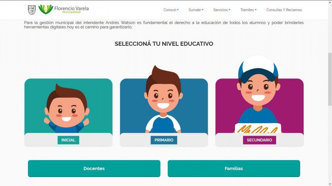Varela presentó su plataforma educativa municipal
