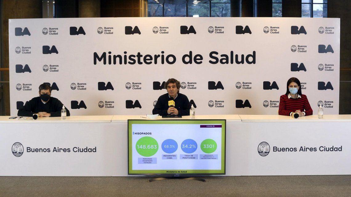 Quirós pidió esperar los números de la semana que viene para una eventual nueva toma de decisiones respecto a la cuarentena