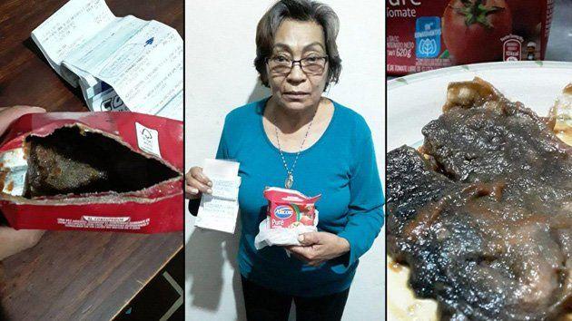 Encontró una rata en caja de puré de tomates y la marca ofreció  bombones como compensación