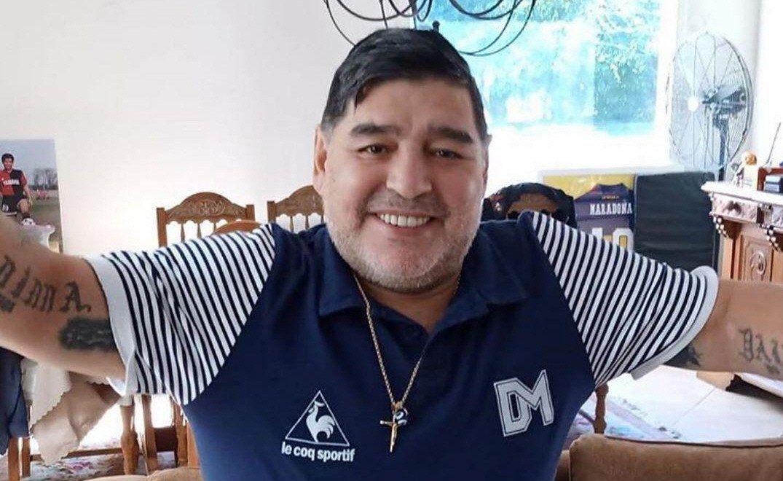 Maradona se muda a La Plata para estar más cerca de Gimnasia