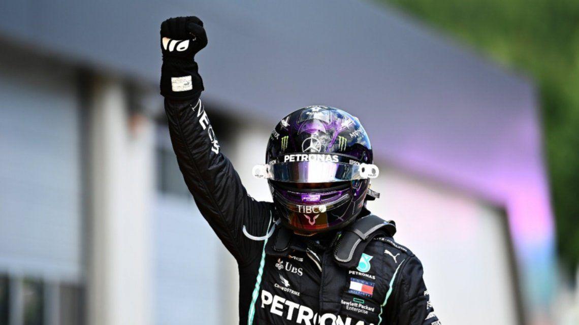 Lewis Hamilton se quedó con el Gran Premio de Estiria en Austria