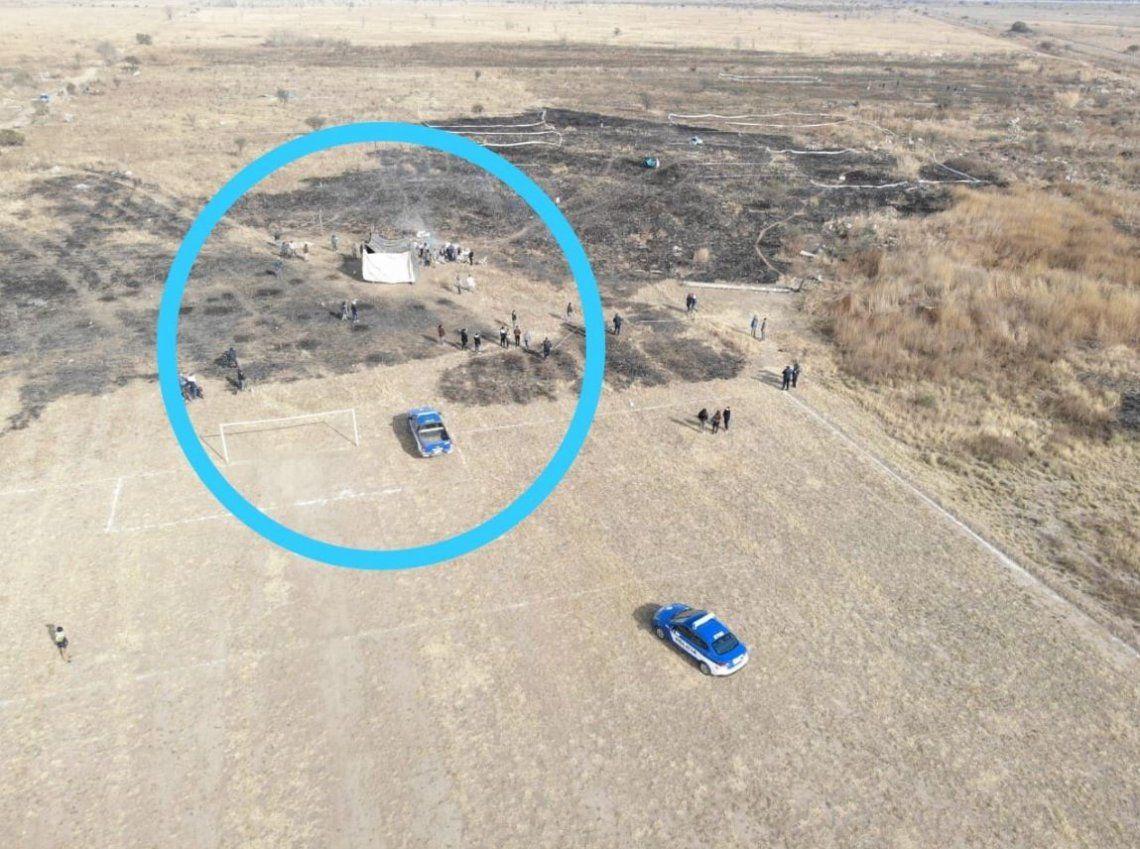 Córdoba: inminente desalojo de familias que usurparon terrenos de la Fuerza Aérea