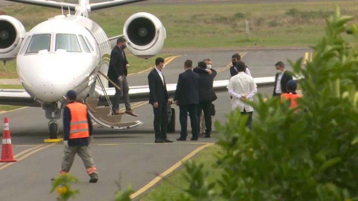 Macri regresó de Paraguay tras su encuentro con el ex mandatario de ese país Horacio Cartés