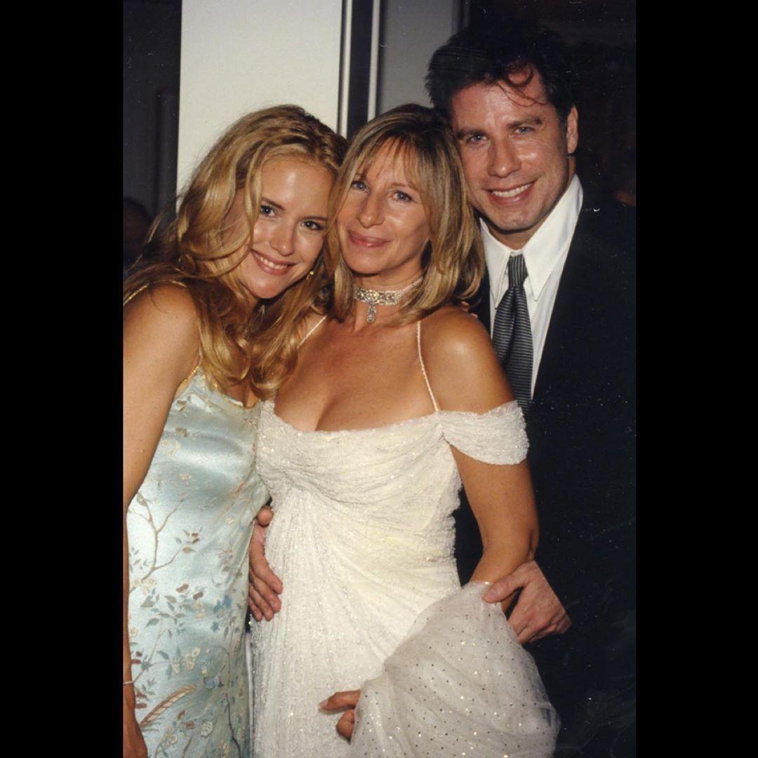 La conmovedora despedida de Barbra Streisand a Kelly Preston, la esposa de John Travolta
