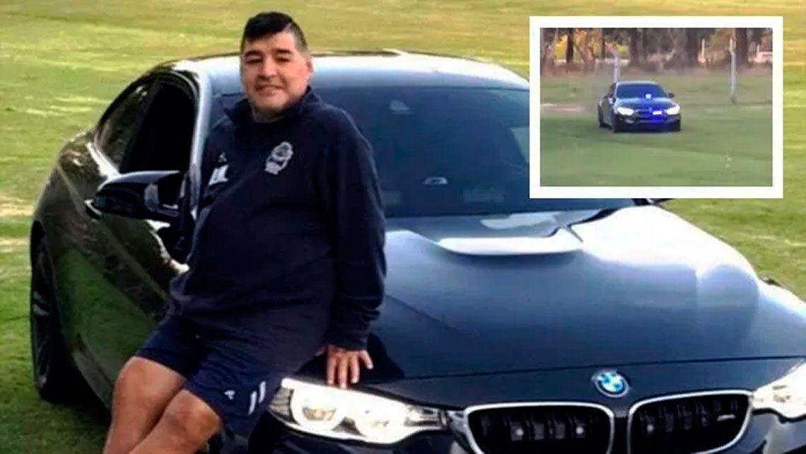 Diego Maradona se compró un patrullero alemán